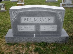 Alma Letta <I>Higgason</I> Brumback