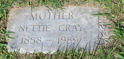 Nettie <I>Gray</I> Bowden