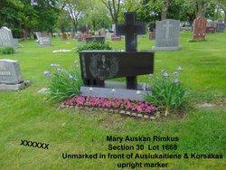 Mary <I>Auskan</I> Rimkus