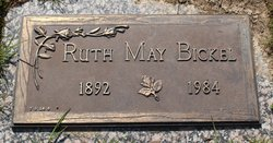 Ruth May <I>Aldrich</I> Bickel