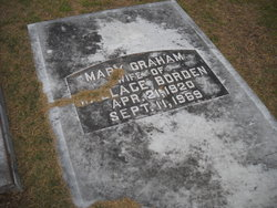 Mary <I>Graham</I> Borden