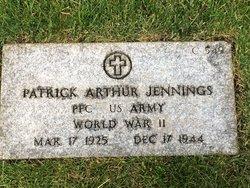 PFC Patrick Arthur Jennings