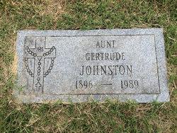 Gertrude <I>Nichols</I> Johnston