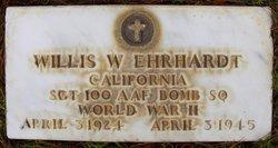 Sgt Willis W Ehrhardt