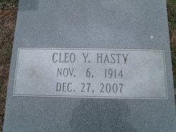 Cleo <I>Youngblood</I> Hasty
