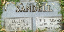 Ruth <I>Adams</I> Sandell