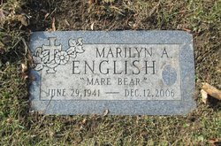 "Marilyn Ann ""Mare Bear"" <I>Murphy</I> English"