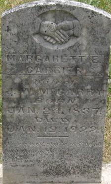 Margaret E. <I>Carrier</I> McGarry