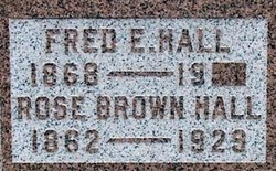 "Rosetta J ""Rose"" <I>Brown</I> Hall"
