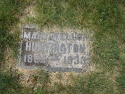 Mary <I>Tellor</I> Huntington