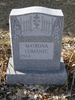 """Matrona """"Motsya"""" <I>Naida</I> Lukianec"""