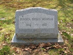 Roberta Briggs Merriam