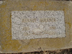 "Benjamin ""Benney"" Hoefner"