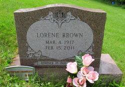 Lorene <I>Veal</I> Brown