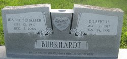 Ida <I>Schaefer</I> Burkhardt