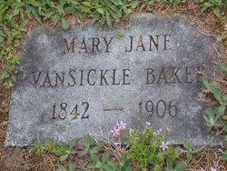 Mary Jane <I>Smith</I> Baker