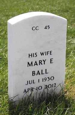 Mary Elizabeth <I>Harmon</I> Ball