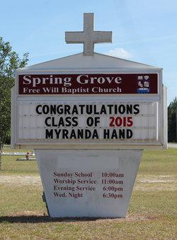 Spring Grove Free Will Baptist Church Cemetery