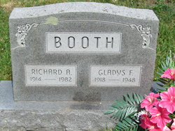 Gladys Flossie <I>Everson</I> Booth