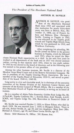 Arthur Harold Saville Sr.