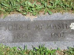 John Egbert McMaster