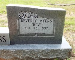 "Beverly ""Bev"" <I>Myers</I> Holdiness"
