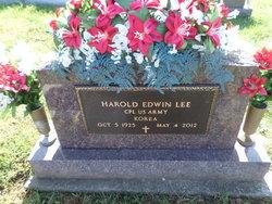 """Corp Harold Edwin """"Ed"""" Lee"""
