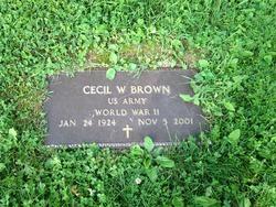 Cecil W Brown