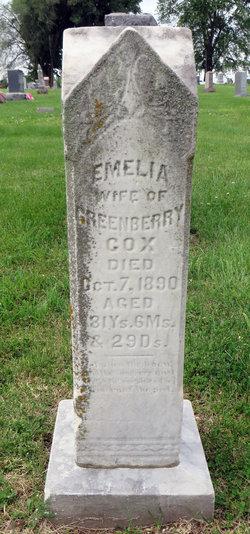 "Permelia ""Emelia"" <I>Mallory</I> Cox"