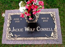 Jackie <I>Wolf</I> Connell