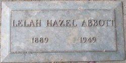 Lelah Hazel <I>Scroggs</I> Abbott