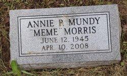 "Annie P. ""Meme"" <I>Mundy</I> Morris"