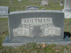 Nora Elizabeth <I>Robertson</I> Aultman