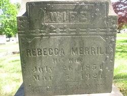 Rebecca <I>Merrill</I> Grant