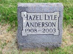 Hazel Rae <I>Lyle</I> Anderson