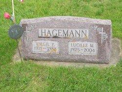 Lucille Mary <I>Leferink</I> Hagemann