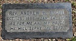 Rev Andrew Harvey Argue