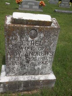 Ethel Jane <I>Fortune</I> Andrews