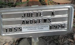 Julia <I>Kersey</I> Andrews