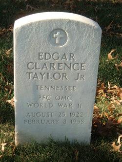 Edgar Clarence Taylor, Jr