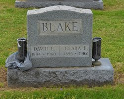 Clara A. <I>Holmes</I> Blake
