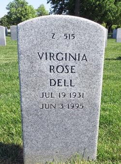 Virginia Rose <I>Davis</I> Dell