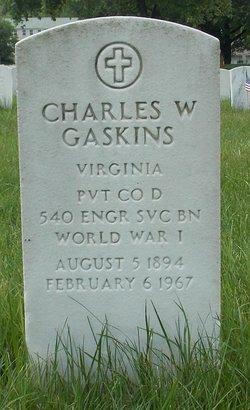 "Charles William ""Charlie"" Gaskins"