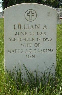 Lillian A Gaskins
