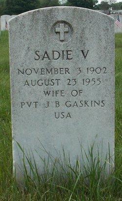 Sadie V Gaskins
