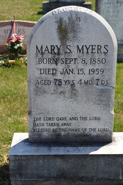 Mary S Myers