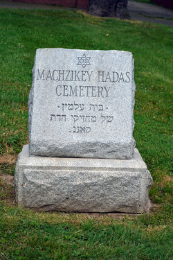 Machzikey Hadas Cemetery