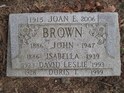 Isabella <I>Mitchell</I> Brown