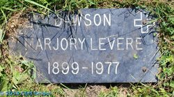 Marjory <I>Levere</I> Dawson