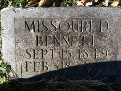 Missouri D. <I>Bateman</I> Bennett